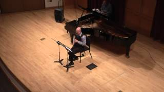 Synchronism No. 12 for Clarinet and Electronic Sounds by Mario Davidovsky
