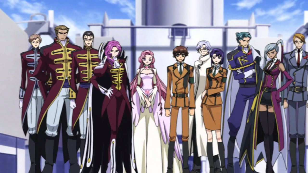 Code Geass R1 Opening 1 [BluRay 1080p]