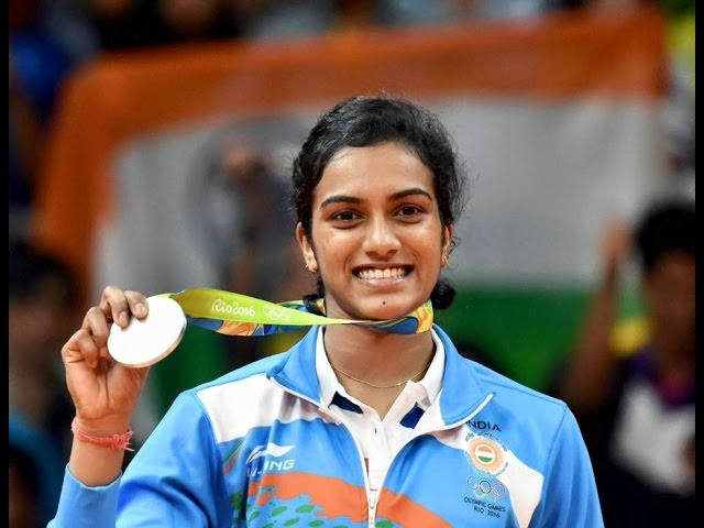 P V Sindhu - Indian Women's badminton player