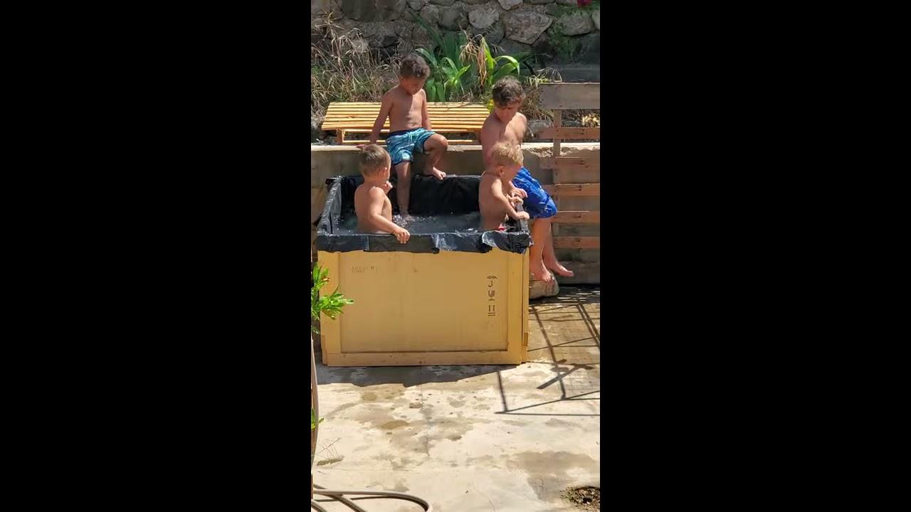 Redneck pool party!!!!!! - YouTube