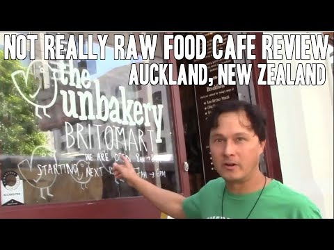 The Unbakery - Not Really Raw Food Cafe Review New Zealand