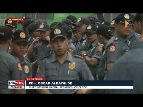 Panayam ng PTV News kay PDir. Albayalde kaugnay sa ginaganap na 'Day of Protest' sa Metro Manila