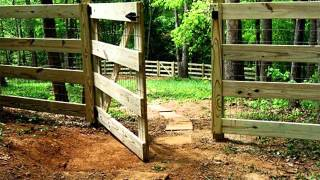 Split Rail Fence Gate Design | Fence Collection And Designs