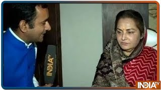Jaya Prada urges Akhilesh to take action against Azam Khan for his controversial remark against her