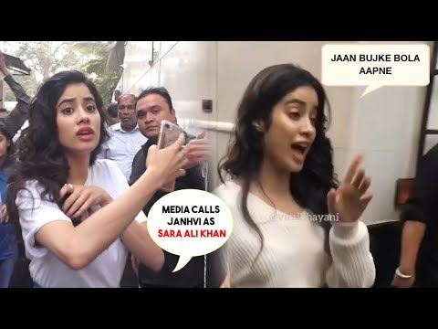 Janhvi Kapoor Was Called Sara Ali Khan By Paparazzi, Her Reaction Will Blow Your Mind Mp3