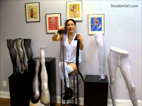 The difference between 100% Nylon stockings and Nylon/Lycra Blend Stockings thumbnail