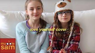 LOVE YOURSELF - JUSTIN BIEBER | Sophia & Bella Mugglesam Kids