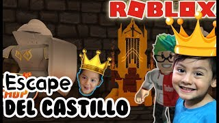 The Castle in Roblox ESCAPE FROM THE EVIL CASTLE ? Roblox games for kids