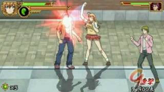 IkkiTousen - Eloquent Fist PSP Game Video 4 [HQ]