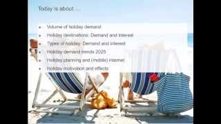 ITB Academy Webinar: The Germans on holiday – Trends from the study