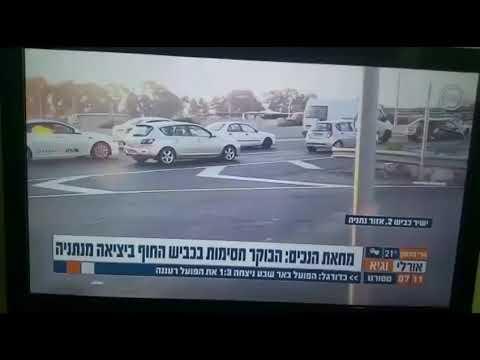 כתבת חדשות 10 התעלפה בשידור חי