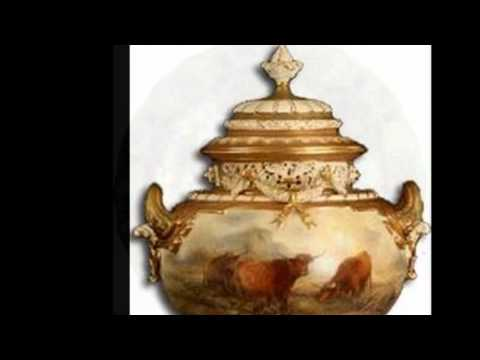 The Beauty of Royal Worcester Hand Painted Porcelain - British Porcelain