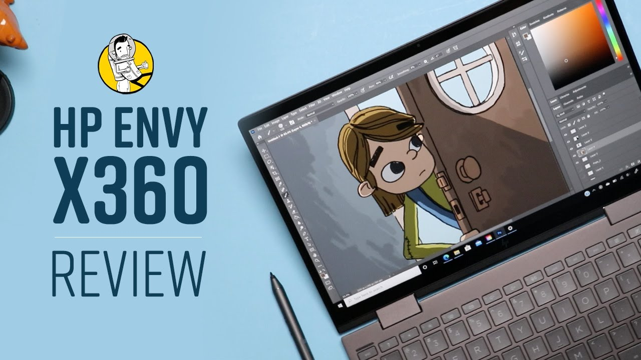 HP Envy x360 AMD Ryzen Review