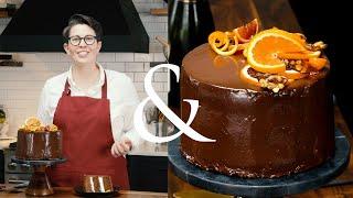 Stunning Chocolate-and-Citrus Cassata Cake | F&W Cooks