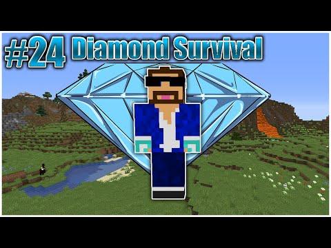 diamond-survival-#24---building-a-mob-grinder!