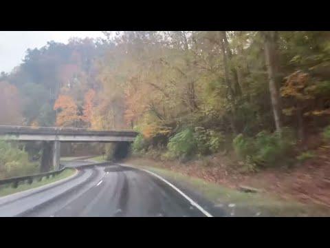 Fall Leaves On The Gatlinburg Spur To Gatlinburg Pittman High School
