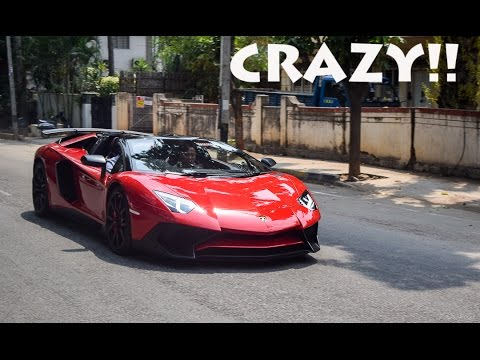 BEST OF SUPERCAR SOUNDS 2016 - LOUD SOUNDS!(Supercars in Bangalore)