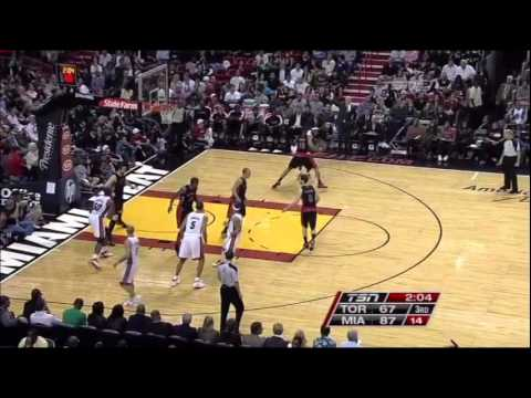 Mike Miller and Lebron show