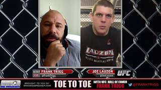 Frank Trigg pre-fight interview with UFC 223's Joe Lauzon
