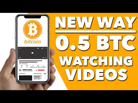 Earn FREE Bitcoin Just By Watching YouTube Videos! (New Method 2021)