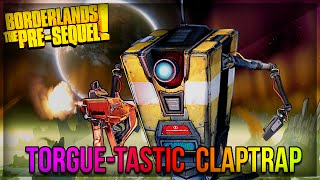Borderlands The Pre-Sequel: Level 50 Explosive/Laser Claptrap Build!