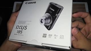 Unboxing Canon Ixus 185