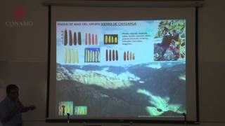 CONABIO Cecilio Mota. FIL 2014. Diversidad de maíces nativos de México