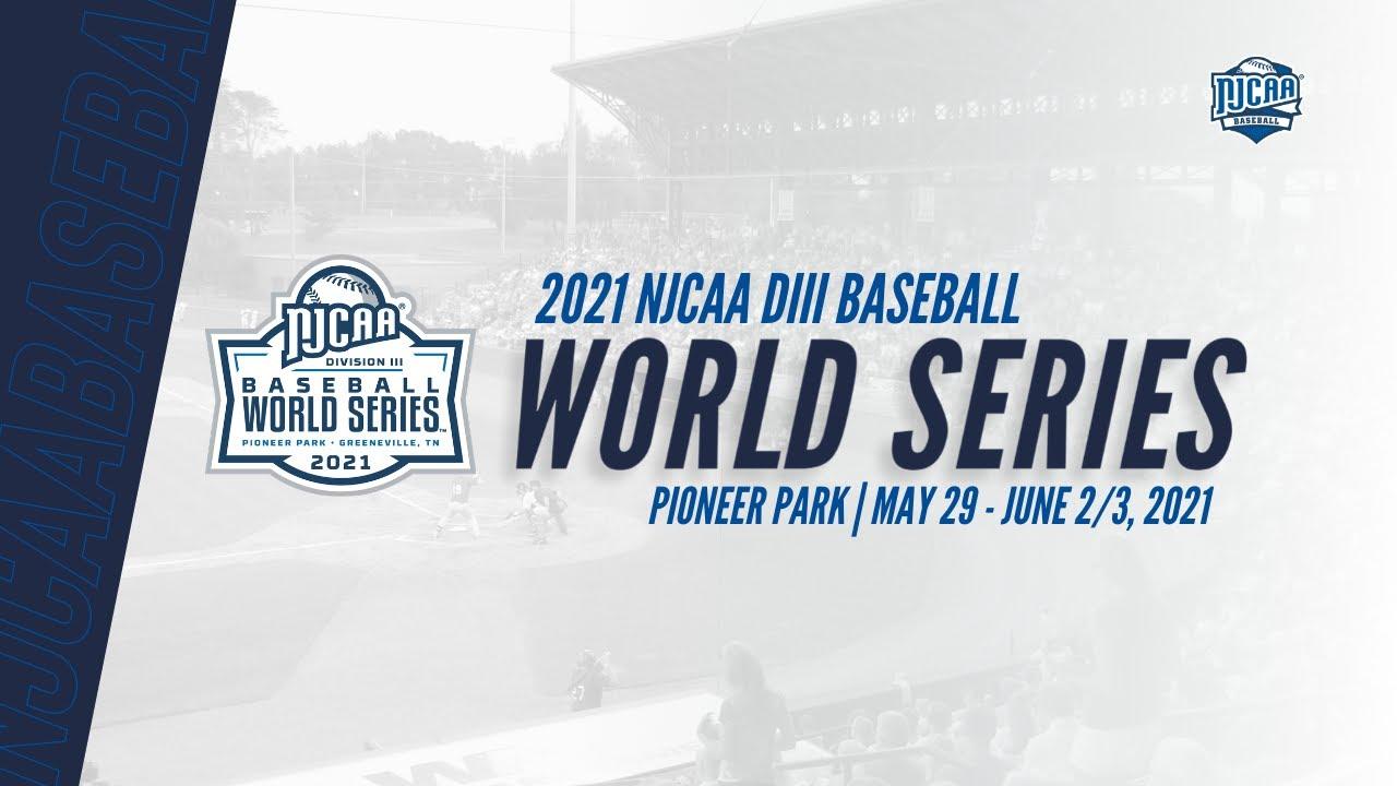 2021 NJCAA Division III Baseball World Series - Bracket Reveal