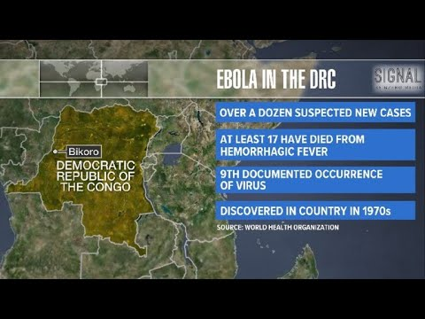 Ebola outbreak turns deadly in Congo