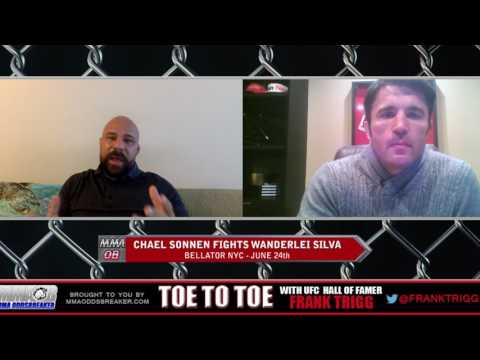 Frank Trigg pre-fight interview with Bellator NYC's Chael Sonnen