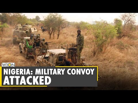 Nigerian Military Convoy Attacked By The Islamic State-aligned Jihadist | World News | WION