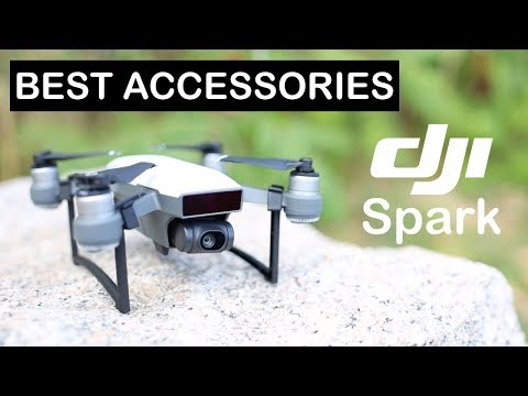 Best Accessories for DJI Spark!