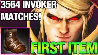 POWER TREADS FIRST ITEM FOR INVOKER!! - BlackMore 3564 matches invoker - PRO INVOKER GAMEPLAY DOTA 2