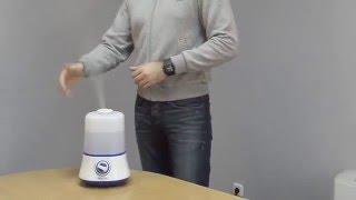 Видеообзор ультразвукового увлажнителя воздуха ТМ Neoclima модель SP 20