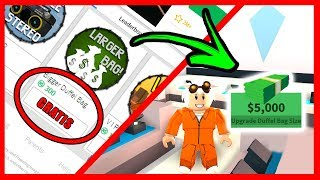 HOW TO GET THE BIG FREE MONEY BAG IN JAILBREAK - ROBLOX