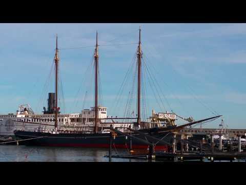San Francisco Maritime National Historical Park - Fisherman's Wharf, San Francisco, February 2018