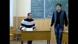 Саша Блинов на дебатах с нашистом