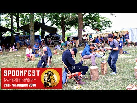 Spoonfest 2018 - Worlds Largest Spoon Carving Gathering