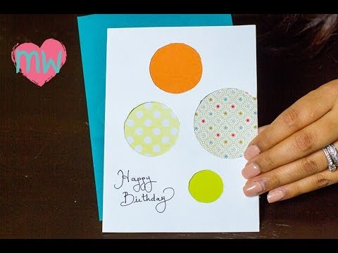 diy creative birthday card, Birthday card