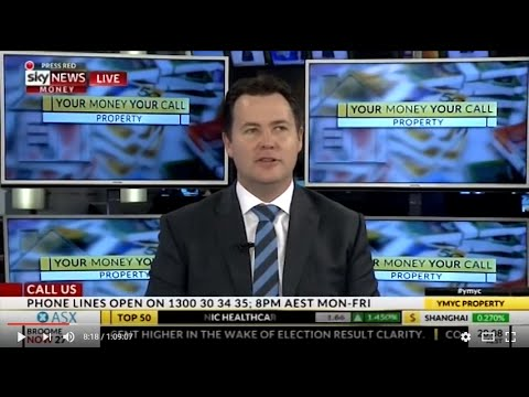 BMT Tax Depreciation hosts Your Money Your Call on Sky News Business – 11/07/2016
