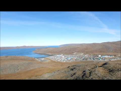 Drone Phantom 3 DJI north of Quebec Canada landscape