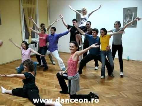 Coregrafie tematica - dansatori amatori