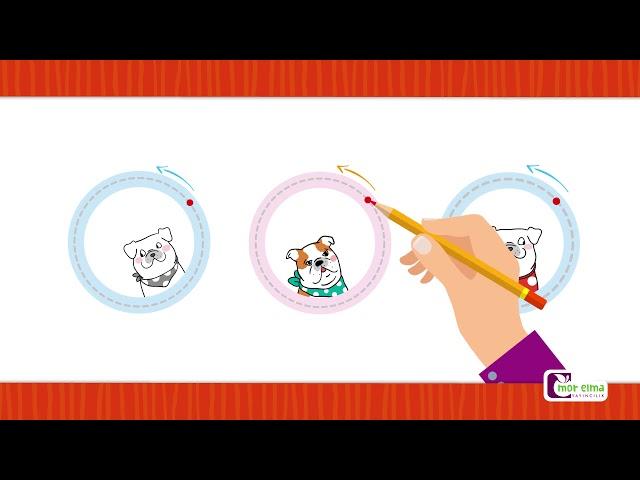 Çember - Çember Nasıl Çizilir - Okul Öncesi Eğitim