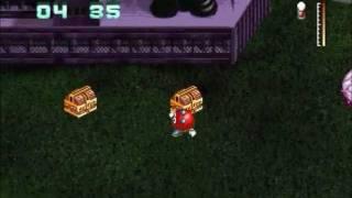 Mutant Penguins DOS Playthrough - Levels 7-9 & Some Mini Games