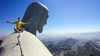 Daredevil Selfie On Top Of Christ The Redeemer