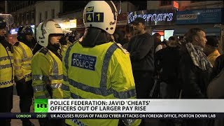 Police Federation: Javid 'cheats' officers out of larger pay rise