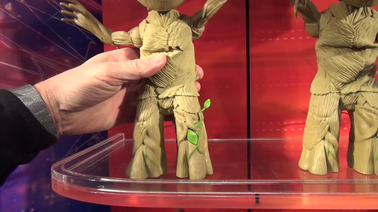 2 Danse Groot Interactive Figure 2017 Guardians of the Galaxy Vol