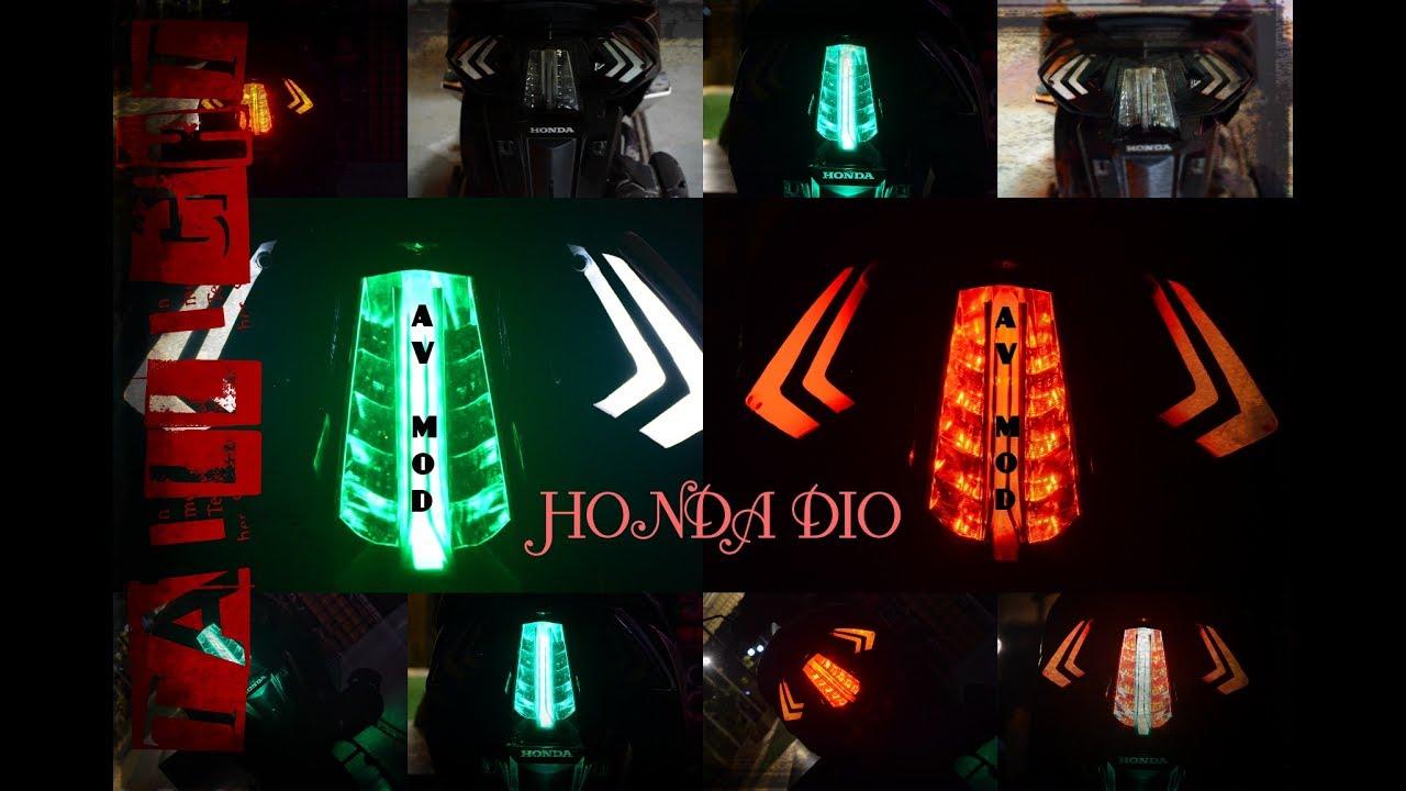 Honda dio custom taillight by avmod