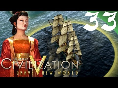 CivV Brave New World China: Ep33 Piracy in the Western Sea