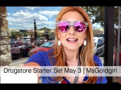 Drugstore Starter Set May 3 | MsGoldgirl